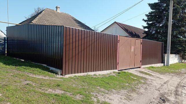 Продам дом на берегу реки Днепр, в Таромском