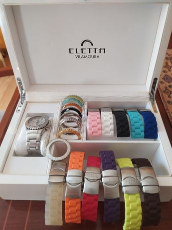 Relógio Eletta Vilamoura com 11 braceletes