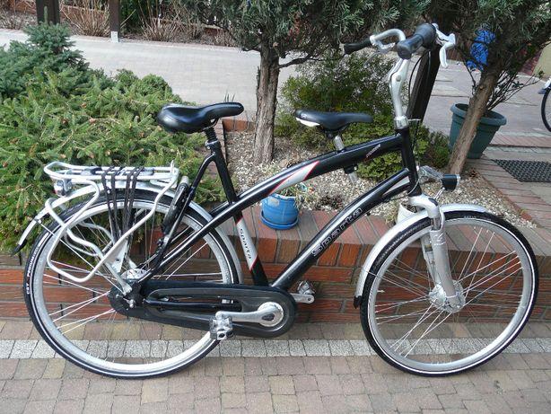 Rower SPARTA PapaZone  54, 58, 60 z podwójnym siodełkiem - holender