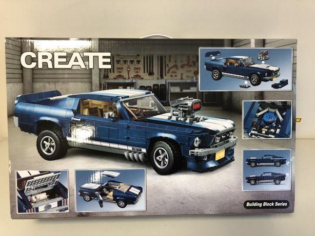 Конструктор модель Форд Мустанг - на 1471 деталей как лего LEGO