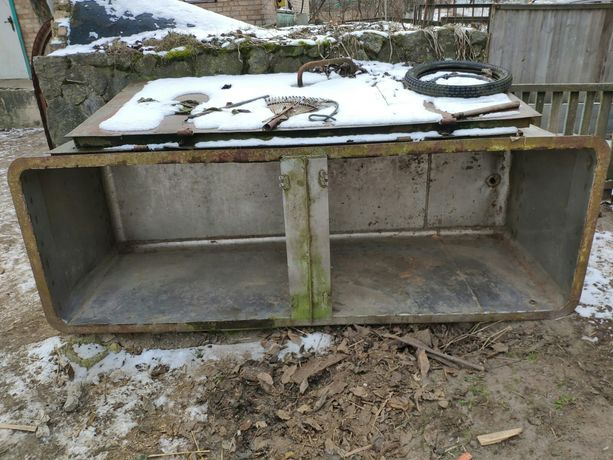 Бак, ёмкость, ванная из нержавеющей пищевой стали 1700 литров