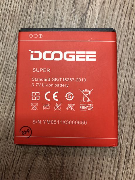 Батарея, Аккумулятор, Акб для Doogee X5 / X5 Pro / X5S 3100 mAh ЗАВОД