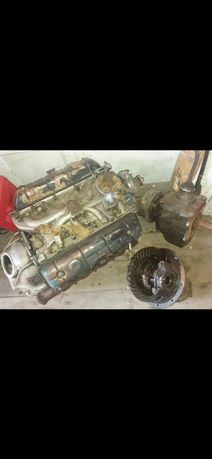 Мотор, коробка, мост, редуктор ГАЗ 53
