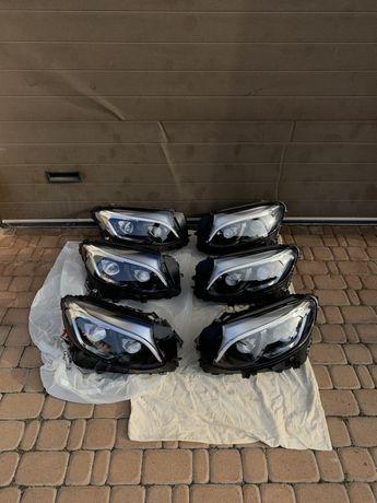 Фары Mercedes GLC w253 full led