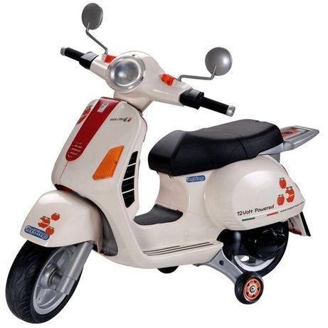 Peg perego Moto vespa 12v para criança