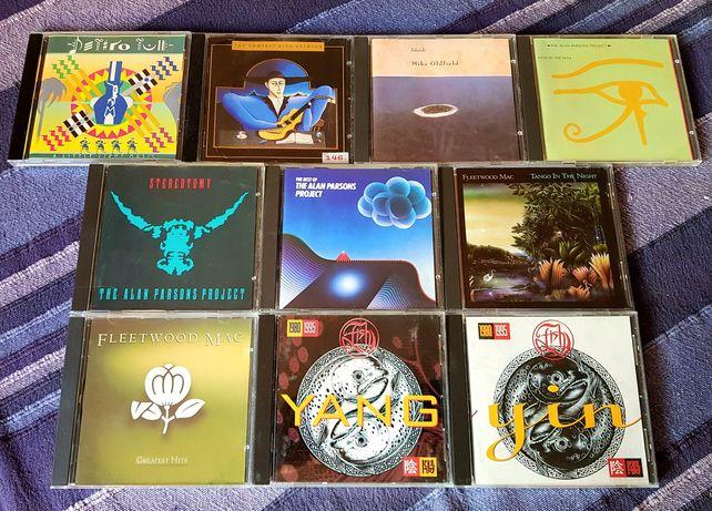 Lote de 10 CDs - Rock Progressivo (Portes Grátis)