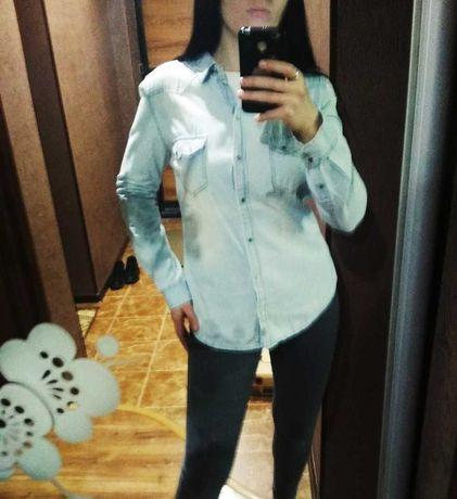 Zara_джинсовая рубашка