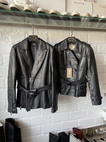 Кожаная куртка жакет Burberry Alexander McQueen пиджак