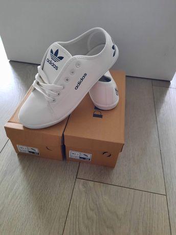 Super trampki damskie eko skórka adidas