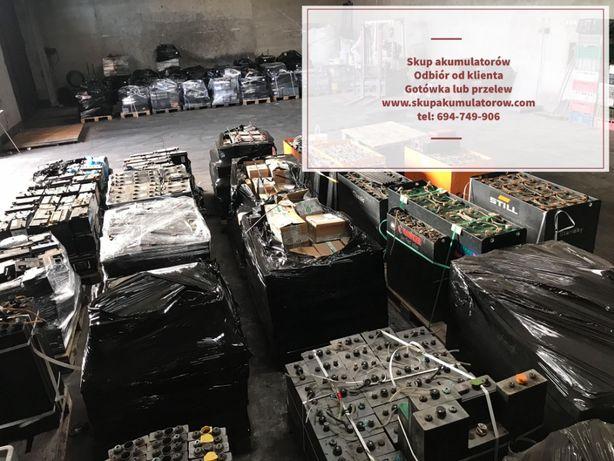 Skup baterii trakcyjnych skup akumulatorów z odbiorem od klienta