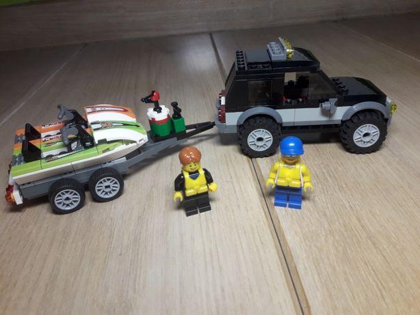 Lego City 60058 terenówka ze skuterami kompletny