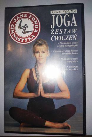 Joga Jane Fonda kaseta vhs wideo