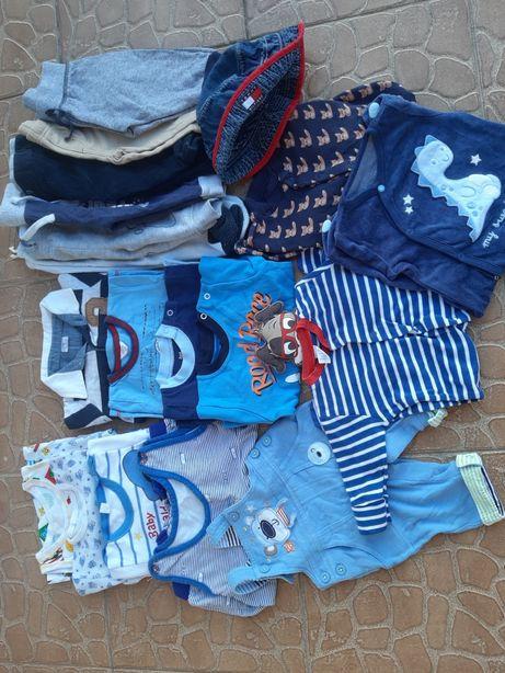Ubranka chłopiec 62 pajacyki spodenki bluzeczki
