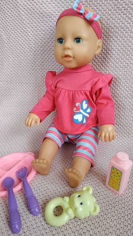 Lalka Baby Annabell Nauka Chodzenia Bobas Interaktywna Akcesoria