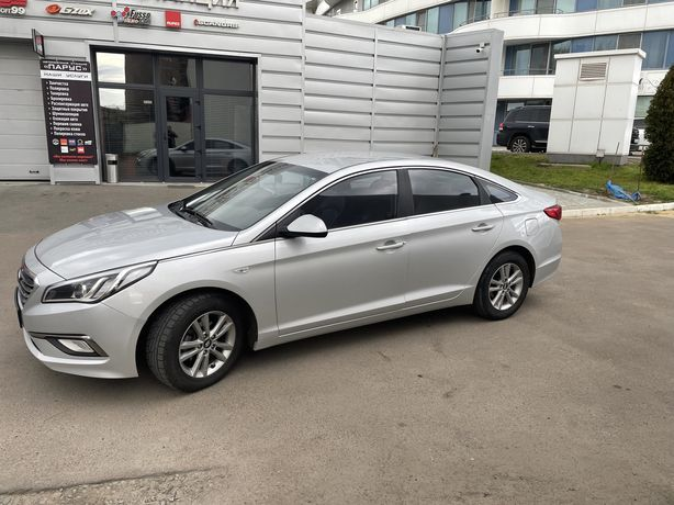Авто в аренду (под такси) Hyundai Sonata LF 2015г. Газ. Автомат.