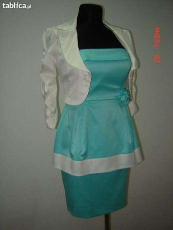 Śliczna sukienka w idealnym stanie! Rozmiar 34-36