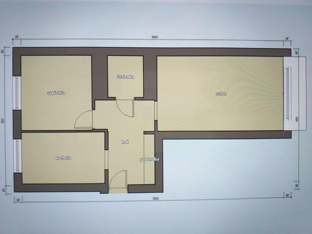 Mieszkanie dwupokojowe na osiedlu przyjaźń 1 pietro z balkonem