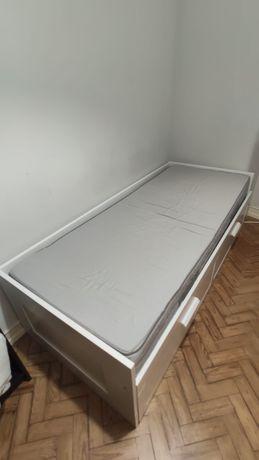 Cama estilo Hemnes IKEA + colchão