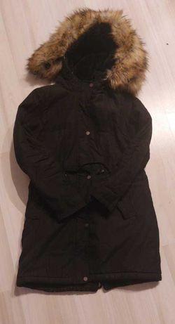 Cropp czarna kurtka zimowa rozmiar s