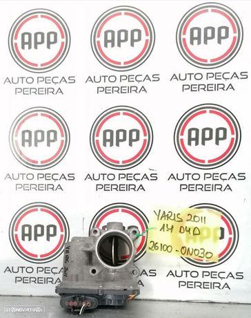 Borboleta de admissão Toyota Yaris 1.4 D4D de 2011 referência 26100-0N030.