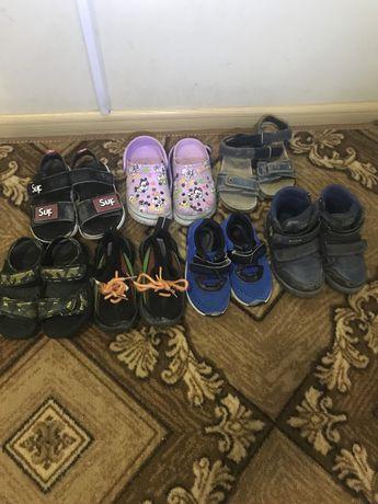 Продам детскую обувь 23-25р