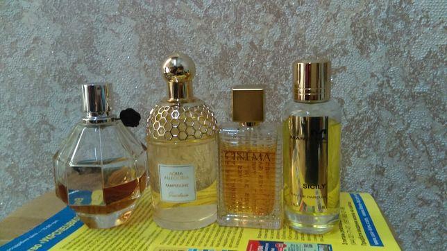 Guerlain,Fragonard,Etro,YSL,Mancera.Остатки оригинальной парфумерии.