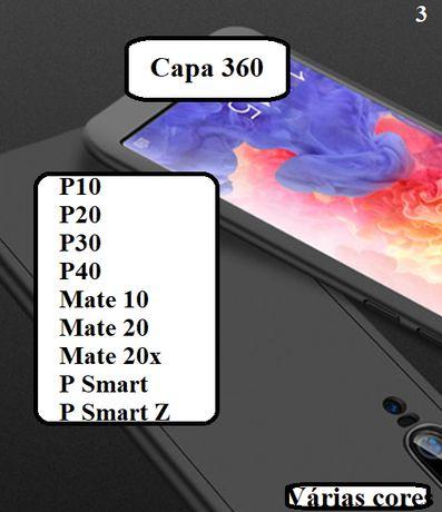 Capa 360 P10 - P20 - P30 - P40 - Mate 10 - Mate 20 - Mate 20x -P Smart