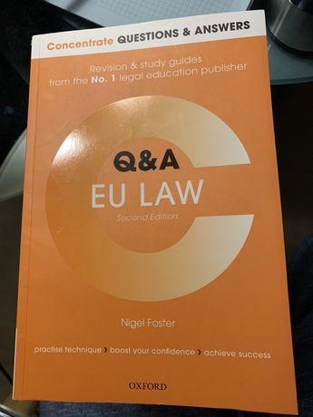 Учебник по Праву ЕС (европейскому праву) в оригинале.Nigel Foster,Q&A