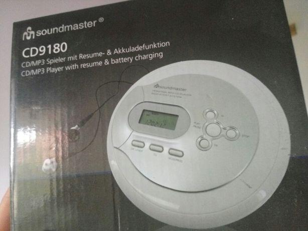 Przenośny odtwarzacz CD/MP3 SoundMaster CD9180 nowy discman ZOBACZ