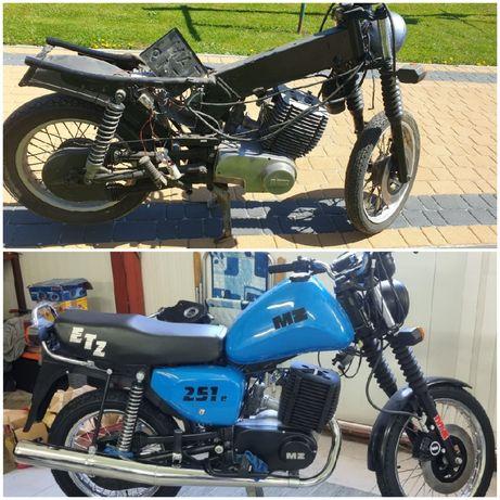 Renowacja motocykli MZ ETZ