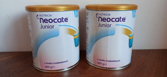 Mleko Neocate junior truskawkowe 2 puszki