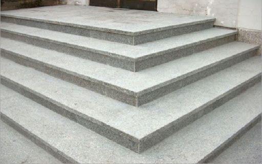 HIT! Schodek/ Stopnica Granit Szary/Brąz 150x33x2cm płomień/poler