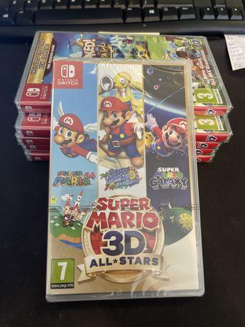 Super Mario 3D All Stars  Gra Nintendo Switch NOWA