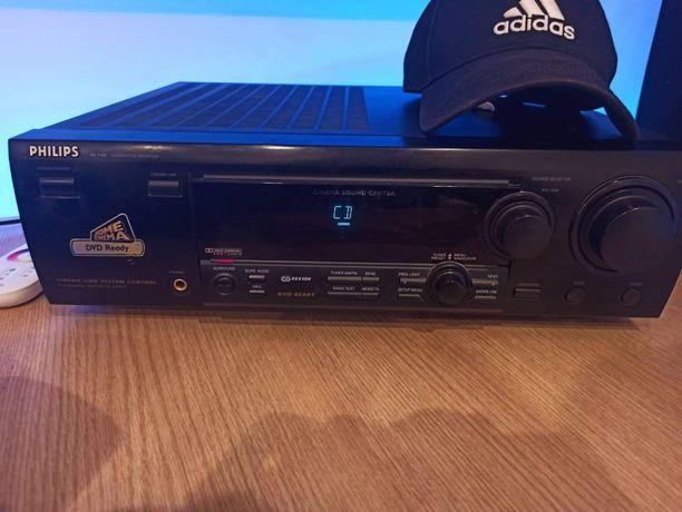 Philips Fr 740 kino domowe amplituner wzmacniacz sorund 5:1