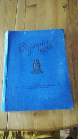 Stary album Olimpia 1936r