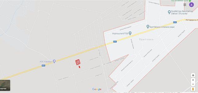 Недорого Продам участок 12 соток Б.-Днестровский рн. Бритовка