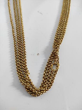 Fio cordão em ouro de 19,2kt preço da grama 47€ (48,8gr de peso)