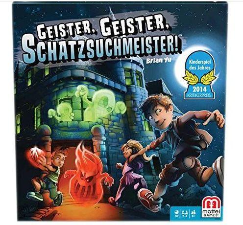 Gra Ghost poszukiwacz skarbu Mattel Y2554 wersja niemiecka
