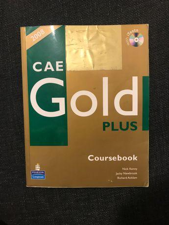 Podręcznik do angielskiego CAE Gold Plus + plyta CD z testami Longman