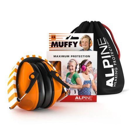 Ochronniki słuchu dla dzieci Alpine Muffy Orange