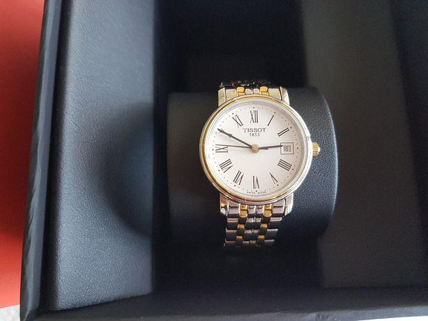 Relógio Tissot novo bicolor com Garantia