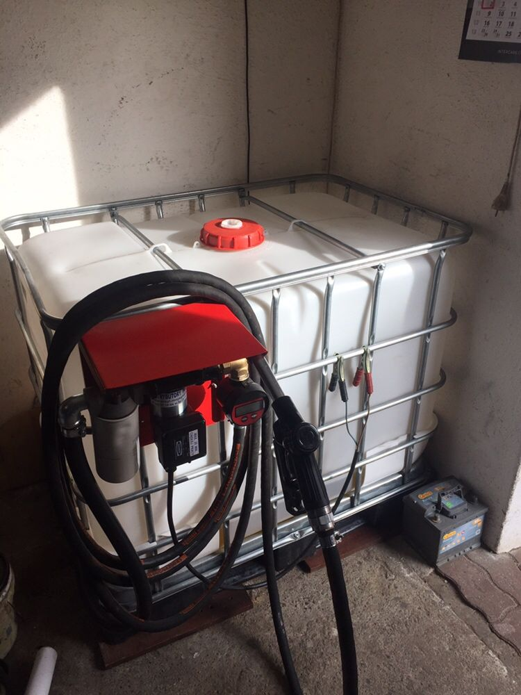 Zestaw Dystrybutor CPN baniak 600L DO ON ADBlue 12V 56L/MIN WARTO