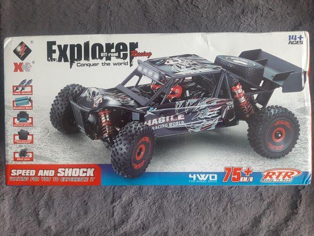 Samochód na sterowanie wl toys 4x4 bezszczotkowy motor buggy