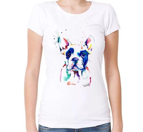 Koszulka bluzka t-shirt buldożek francuski buldog pies S-XXL