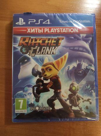 Новый запечатанный диск Ratchet & Clank PS4 (рус.)