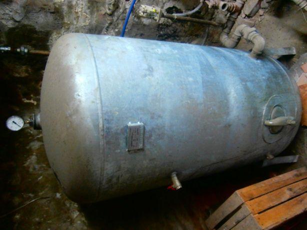 zbiornik hydrofora 500 l, silnik, sterownik.