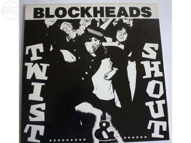 "Discos de Vinil, 12"", 45 RPM Blockheads, Men Without Hats (Novos)"