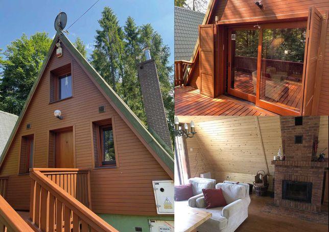 Okazja - sprzedam piękny domek górski Brda o b. wysokim standardzie.