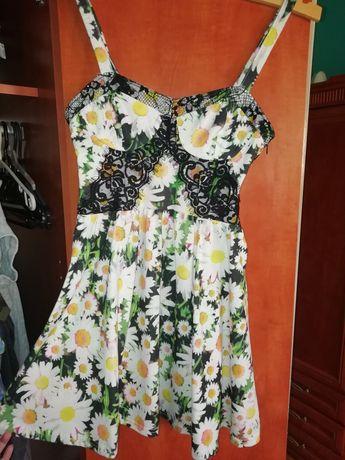 Sukienka letnia kwiaty S p