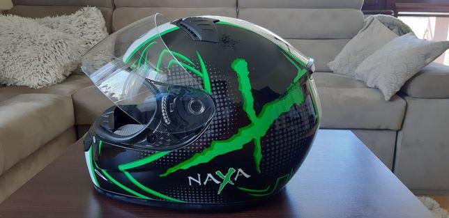 Kask NAXA  motocyklowy pełny